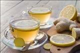 دمنوش زنجفیل و لیمو