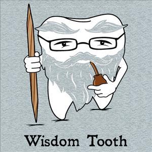 با دندان عقل رویش یافته چه کنیم