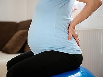 کمردرد در بارداری