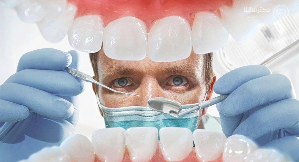 بریج كردن دندان نخ دندان بریج