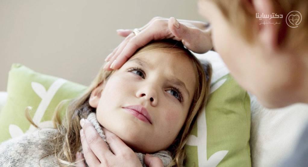 علائم بیماری مخملک در کودکان