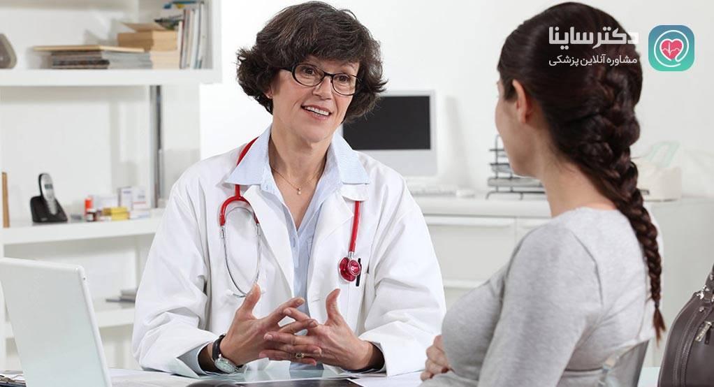 کم کاری تیروئید در بارداری کم کاری تیروئید در ماه هفتم بارداری  کنترل کم کاری تیروئید در بارداری