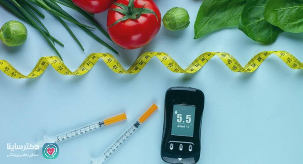 رژیم غذایی سالم و متعادل برای دیابت چیست؟