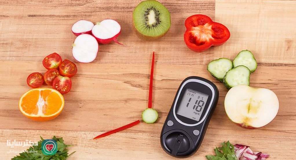 رژیم غذایی دیابت نوع 2 - لیست غذای دیابتی ها
