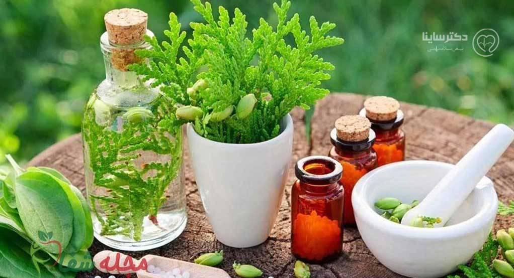 درمان گیاهی آب مروارید